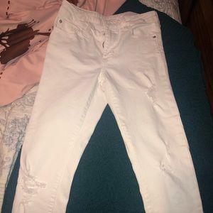 Zara ripped denim jeans